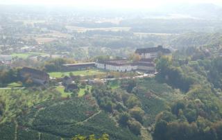 Schloss Seggau Vogelperspektive